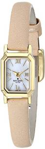 "kate spade new york Women's 1YRU0637 ""Tiny Hudson"" Watch with Beige Leather Band"