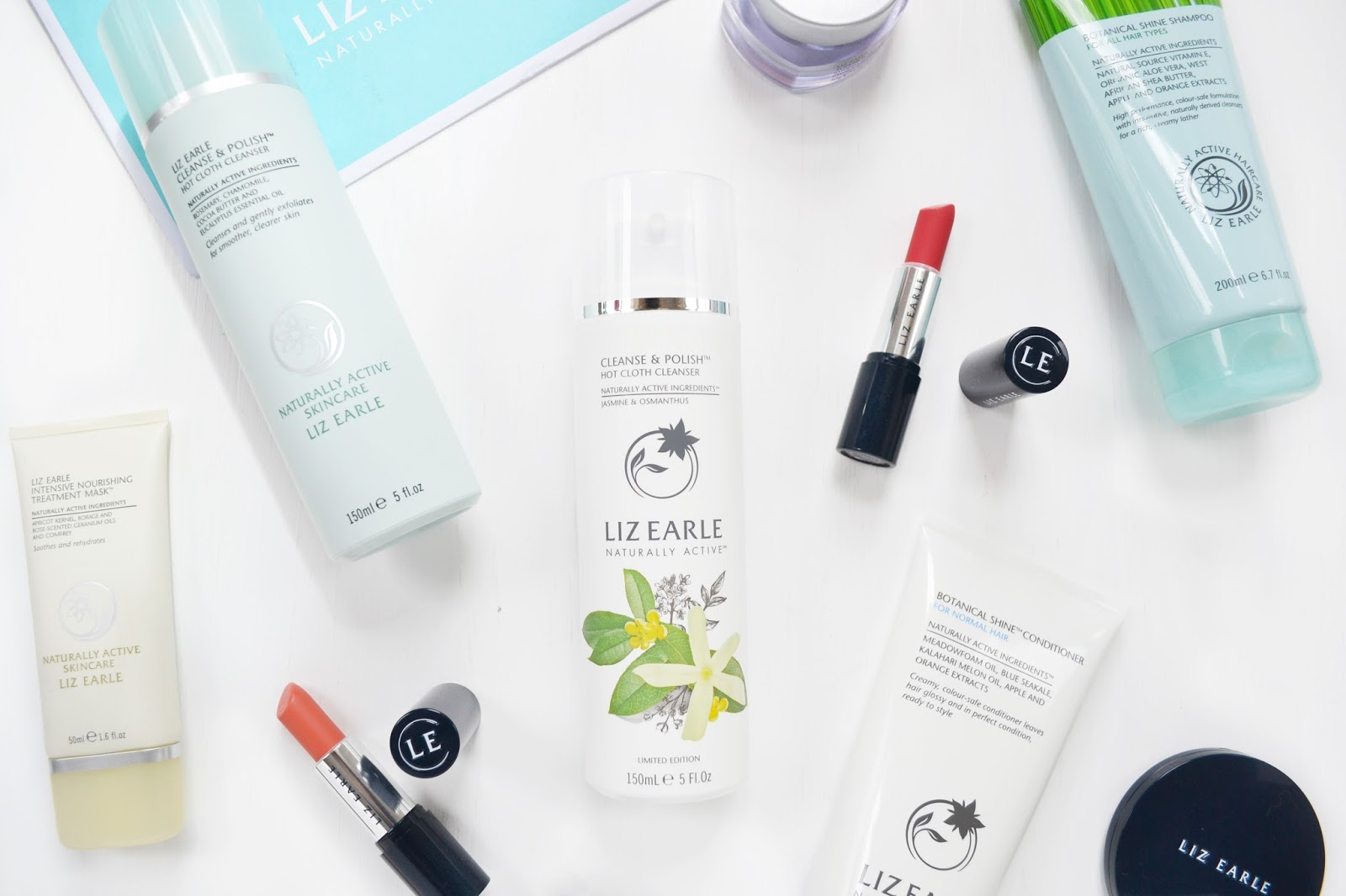 Liz Earle Jasmine and Osmanthus Cleanse & Polish