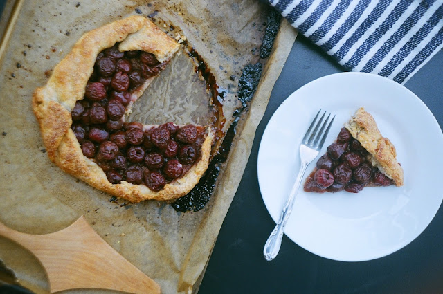 """Old Fashioned"" Cherry Galette"