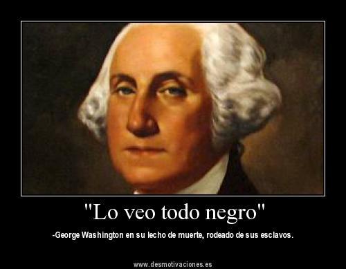 murio george washington: