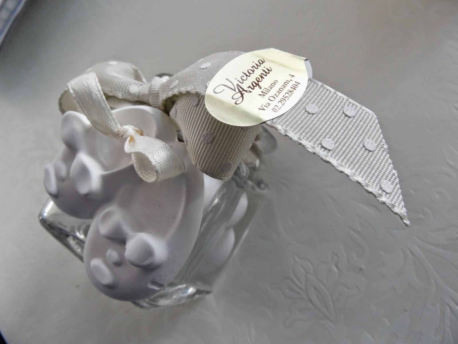 Favorito Bomboniere per Amore: Barattolini in vetro porta confetti con  MC71