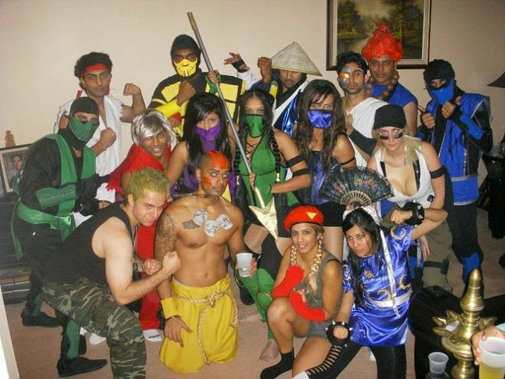 MORTAL COMBAT group halloween costume