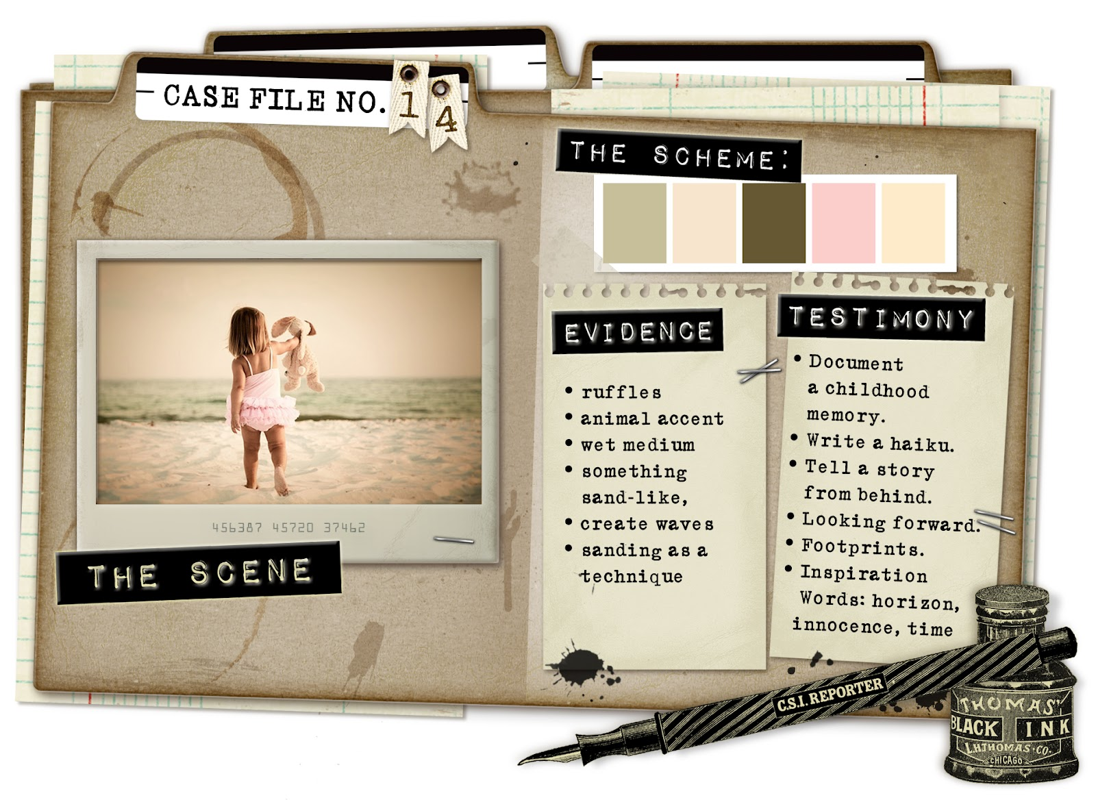 Detective Case File Template Has Given Our Files A