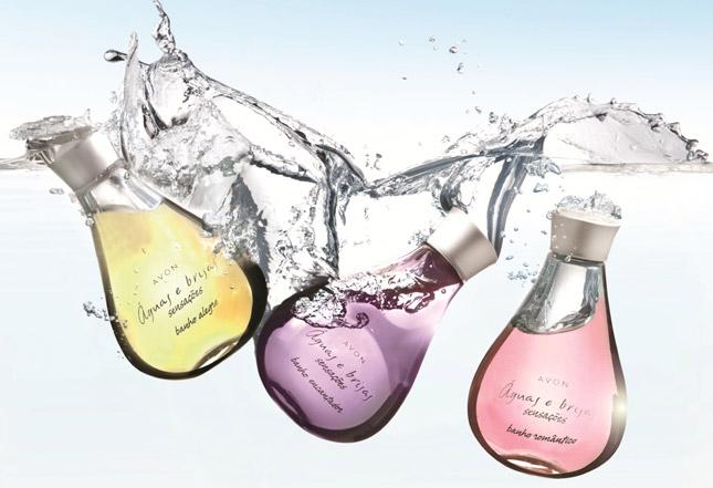 Avon Águas e Brisas Sensações Banho Encantador