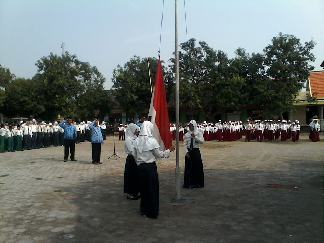 Hari Pahlawan, Desa Ngrejeng Gelar Upacara Bersama