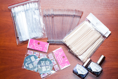 ElCorazon, stamping plate, orange sticks,