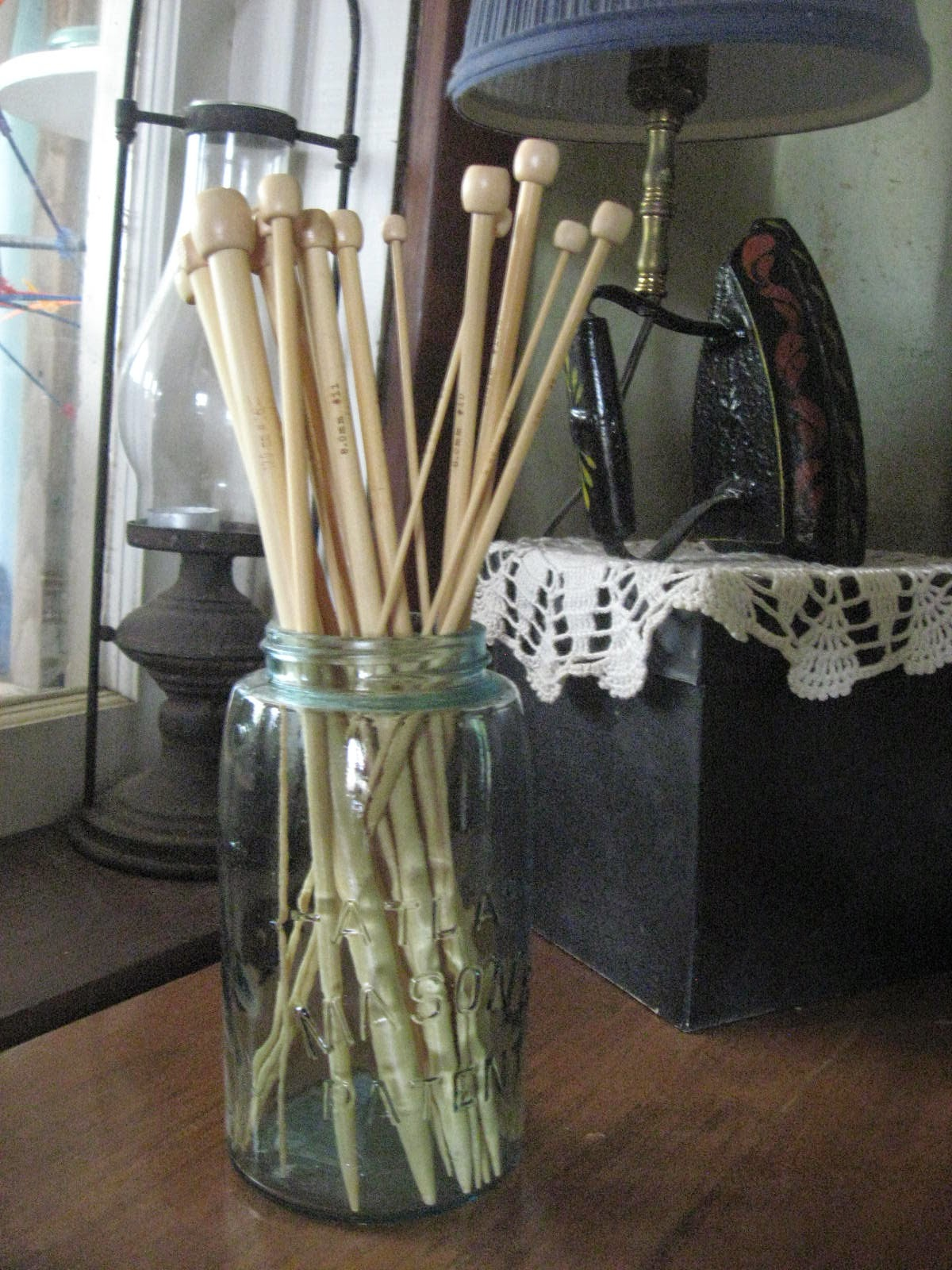 Simply Organized Homemaking: Using Glass Jars in Your Home