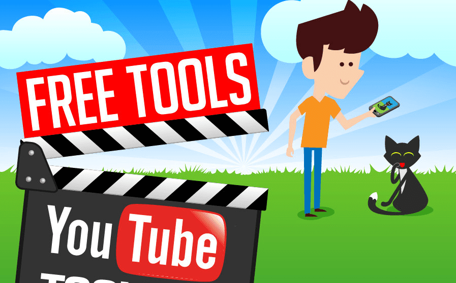 Free Tools For Your YouTube Toolbox - #infographic #videomarketing