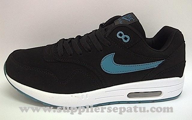 sepatu nike air max hitam biru