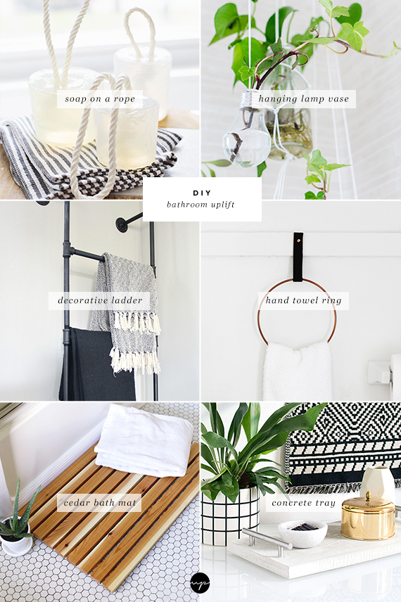 DIY: Pretty projects to uplift your bathroom