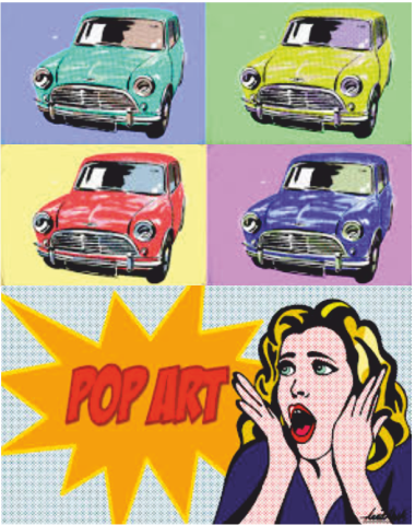a history and the influences of pop art a modern art direction Warhol's pop politics he became a symbol of the counterculture movement in the early 1960s for his bold pop art works smithsonian smartnews history science innovation arts & culture travel at the smithsonian photos videos & podcasts games.