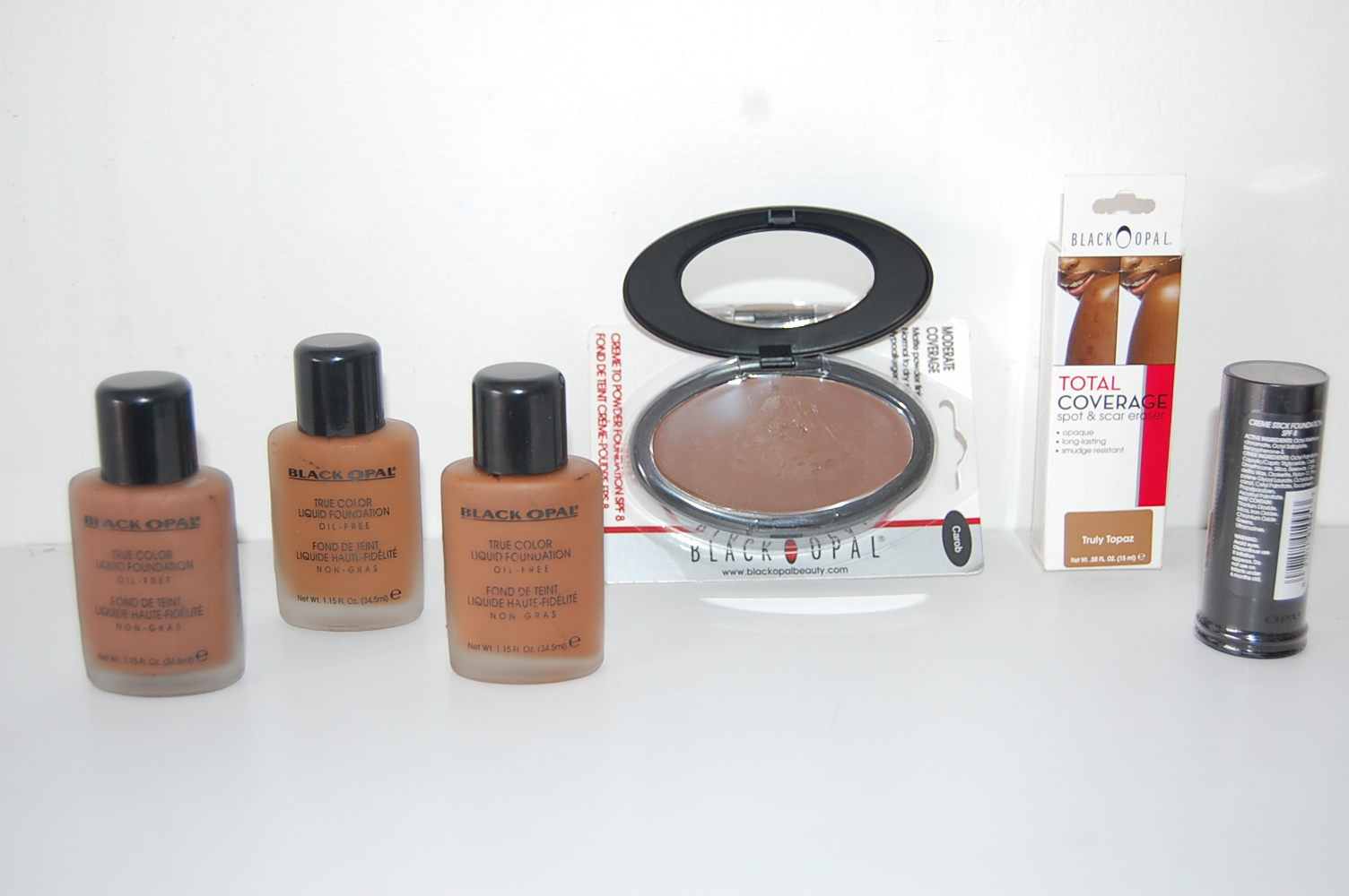 Black Opal Make Up Range Skin Solutions Tanzania