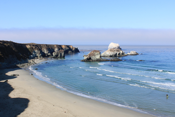 Beautiful Sand Dollar Beach, Big Sur