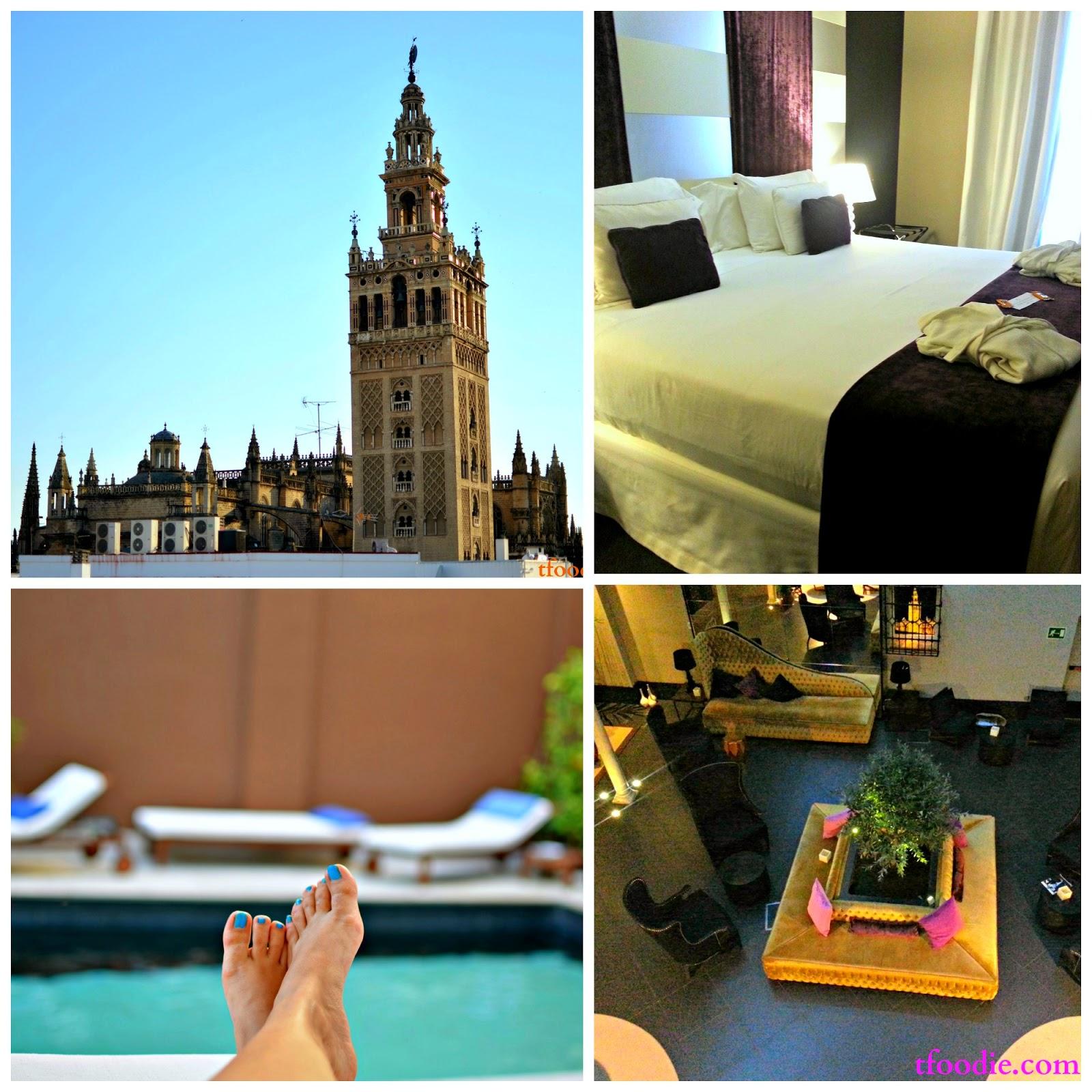 The traveling foodie hotel fontecruz seville for Hotel design seville