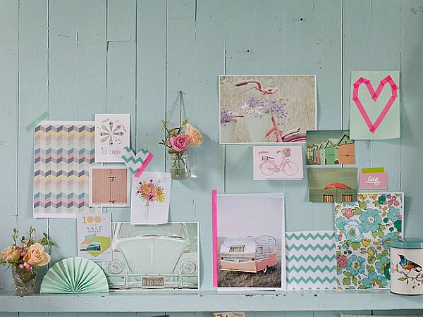 Home inspiration... Pastels.
