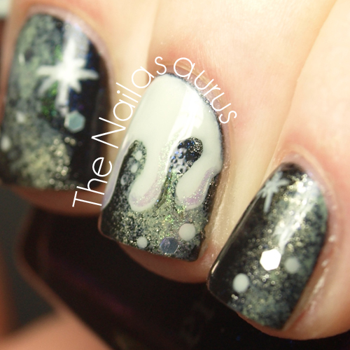 31DC2012: Day 19 Galaxy Nails