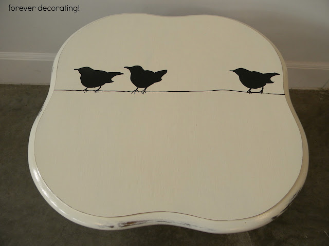 Forever Decorating!: Birds on a Wire!