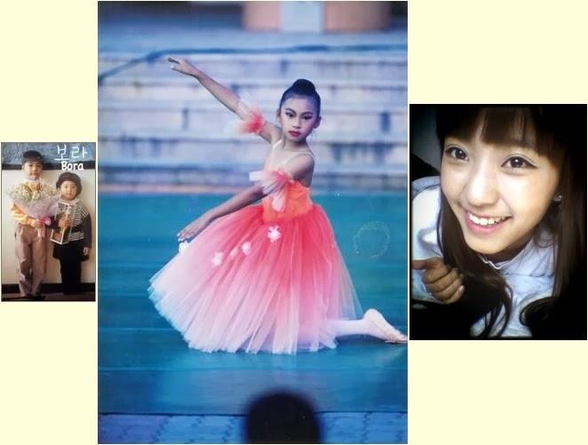 sistars childhood photos revealed daily k pop news