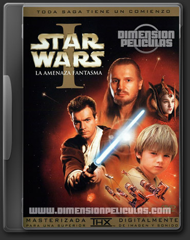 Saga Star Wars Episodios 1-6 (DVDRip Inglés Subtitulada)