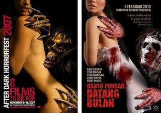 hantu puncak datang bulan vs after dark horrorfest