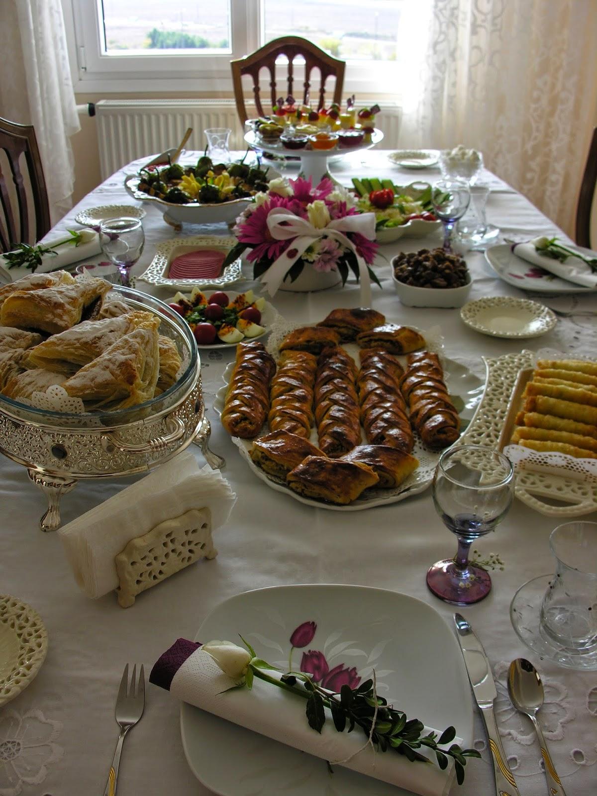 Kahvaltılar, Özel Günler İçin Masalarımız