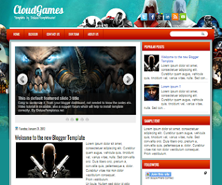 Games+Blogger+Template