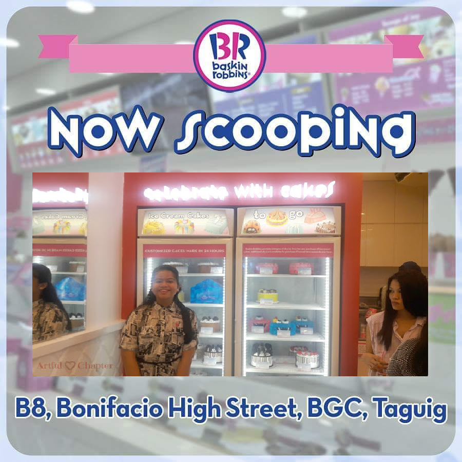 Artful Chapter Goes to Baskin-Robbins Bonifacio High Street in Style