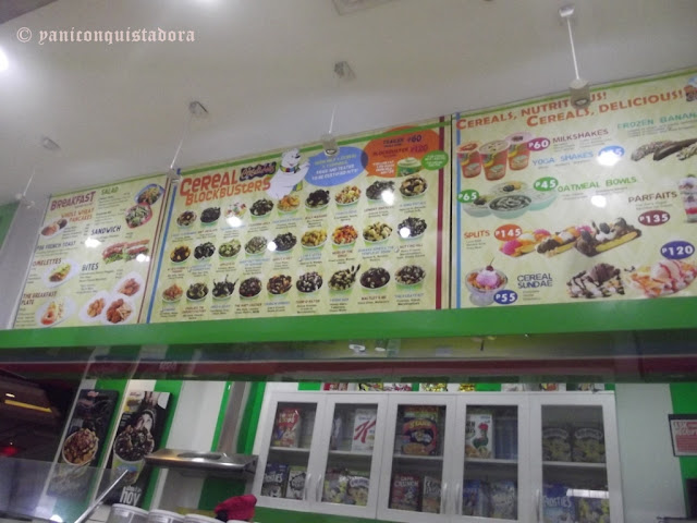 CerealiciOus Cafe in Robinson's Galleria