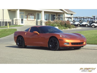 2008 Corvette at Purifoy Chevrolet