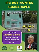10.07.2016 - IPB DOS MONTES GUARARAPES/PE