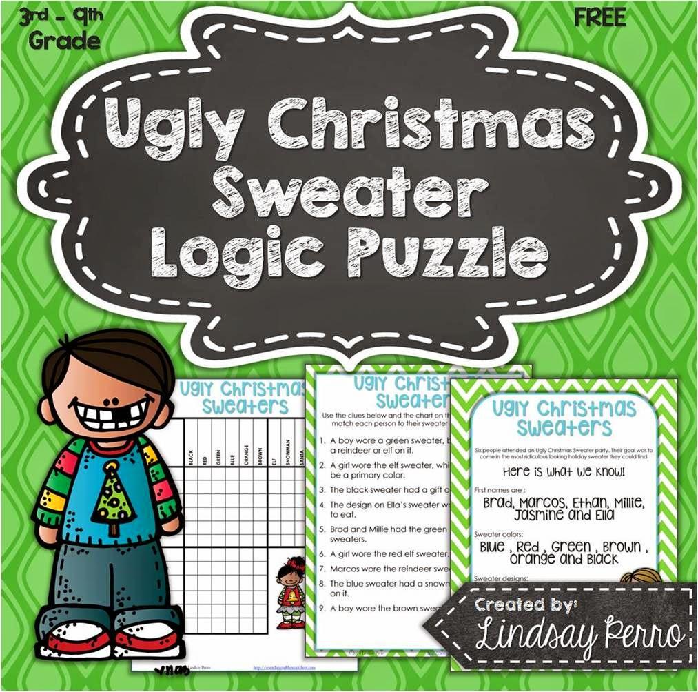 Free Holiday Logic Puzzle