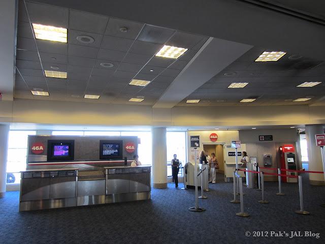 AA LAX Gate 46A