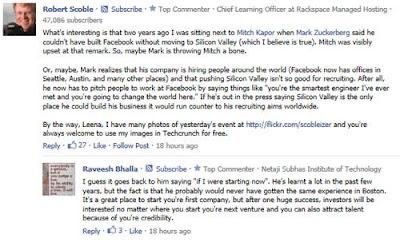 Google indexa comentarios de Facebook