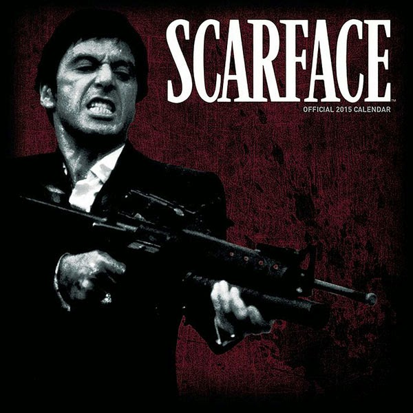 Calendario Scarface 2015