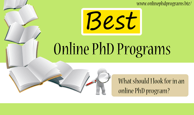 Phd degrees online
