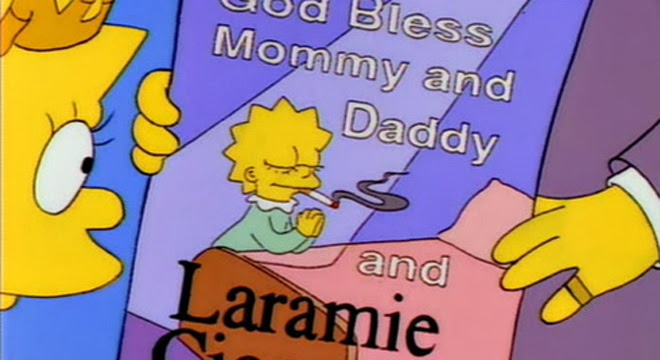 Laramie - Los Simpsons