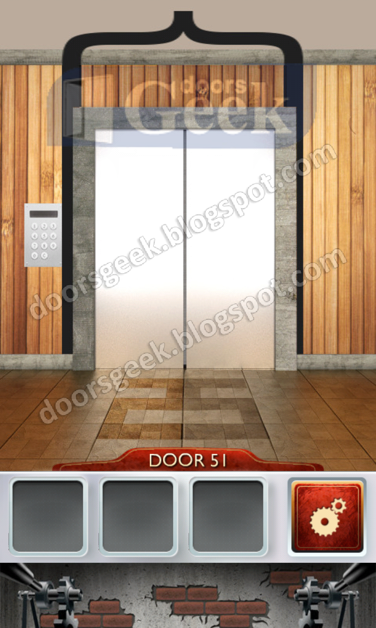 100 doors 2 level 51 doors geek for 100 doors door 9 solution