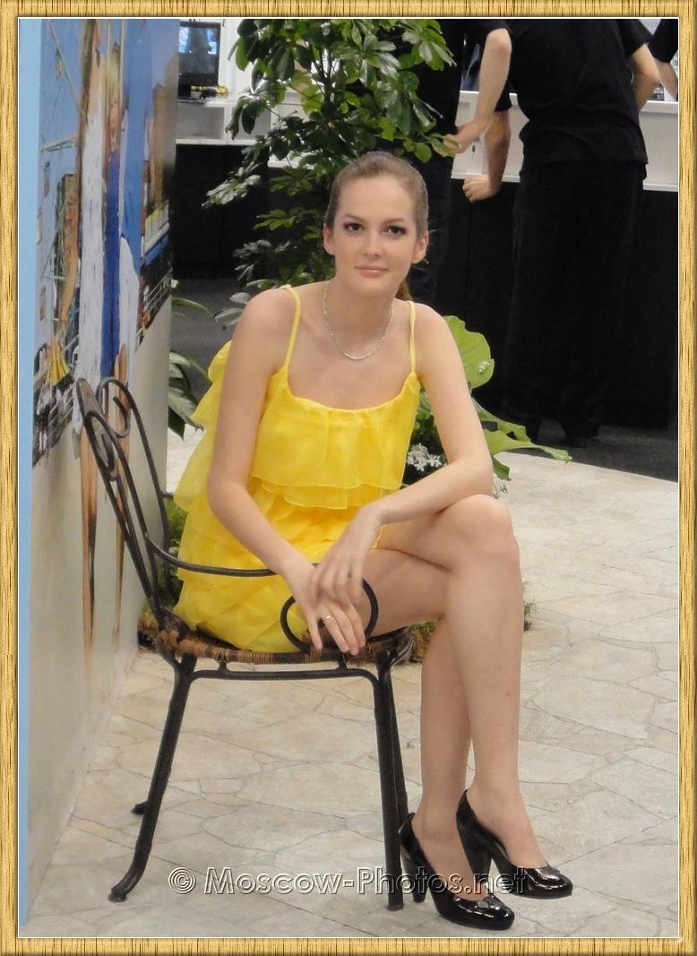 Sony Girl In Yellow Dress at Photoforum