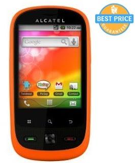 Alcatel OT-890D HP Android Dual SIM harga dibawah 1 juta