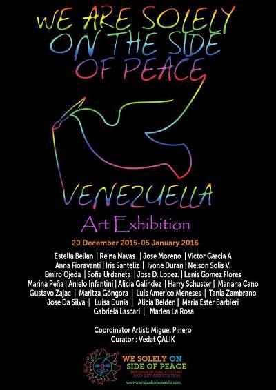 Convocatoria a participar en Exposición  Por la Paz
