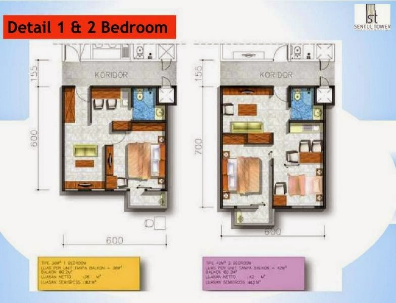 Unit Sentul Tower Apartment