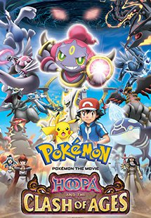Pokemon Movie 18: Hoopa Và Cuộc Chiến Pokemon Huyền Thoại - Pokémon the Movie: Hoopa and the Clash of Ages Thời lượng: 79 Phút