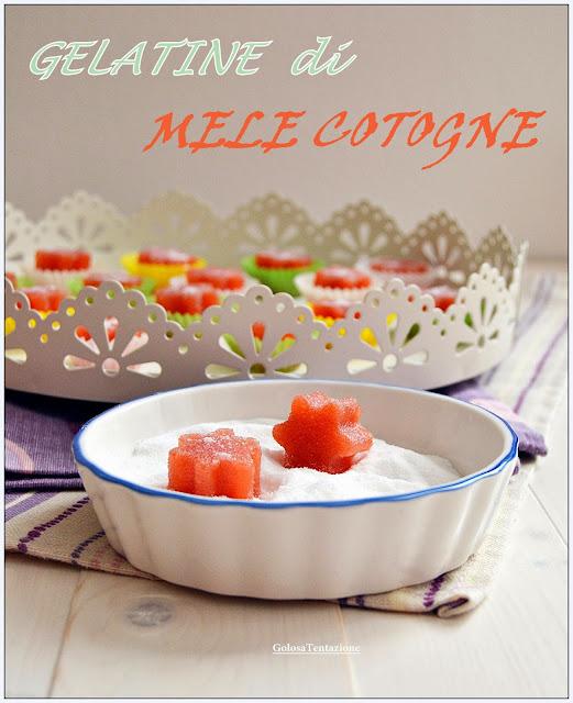 gelatine di mele cotogne