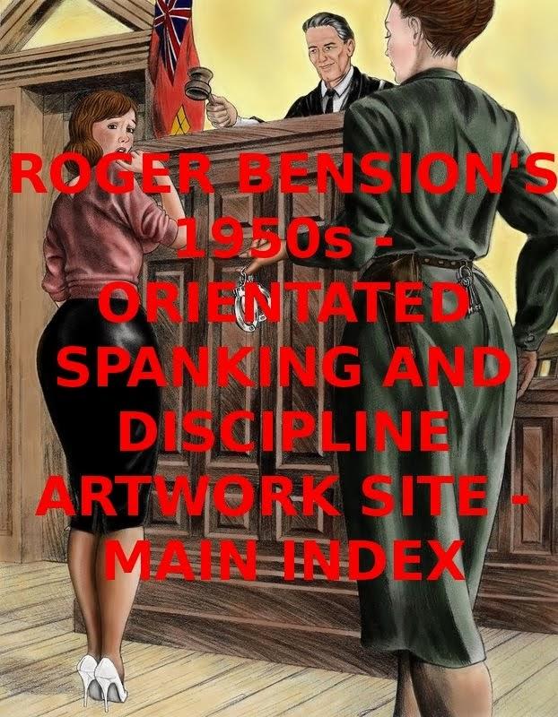 ROGER BENSON'S SPANKING ART