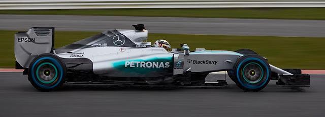 Vehículo Mercedes F1 Hybrid 2015