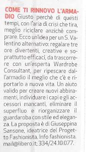 Elena Del Santo su Torino7 vi consiglia di rinnovare il vostro guardaroba!!