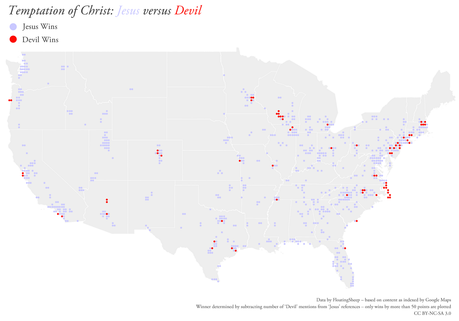 Religion Map Us Globalinterco - Religion maps us