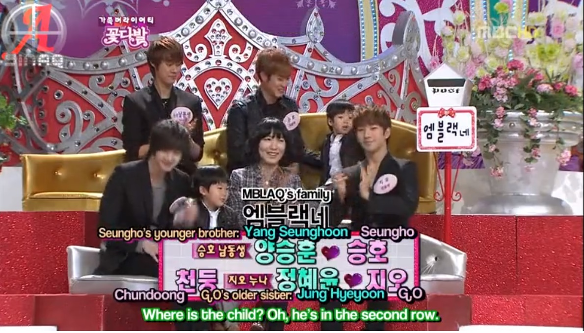110227 Show Mblaq On Mbc Flower Bouquet Eng Sub Only Seungho