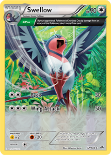 Swellow Roaring Skies Pokemon Card