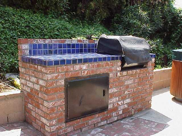 Brick Built In Bbq3